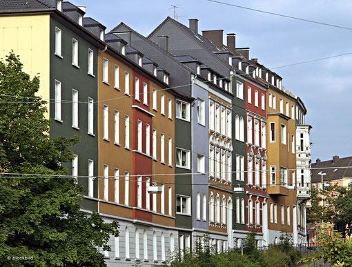 Häuserzeile an der Buscheystraße :: Foto: Block