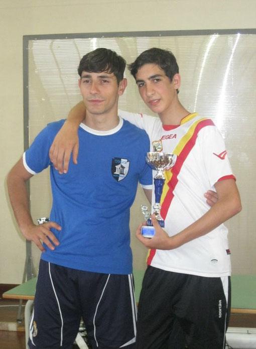 Giuseppe Torre, campione siciliano open-cadetti 2011