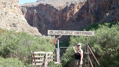 Eingang zur Todesschlucht