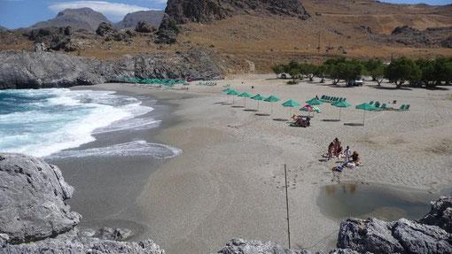 Stellplatz Amoudi-Beach