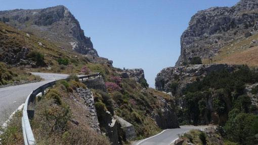 Eingang zur Gorge Kotsifou