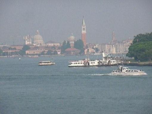 Venedig in Sicht - Urlaub ist vorbei