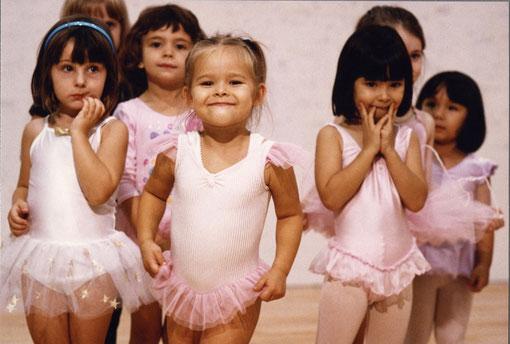 Expat kids' ballet class, Tokyo, Japan.