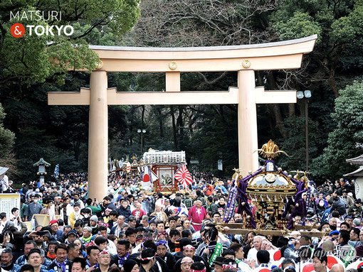 建国祭,神輿パレード,平成31年,2.11,建国記念日,明治神宮