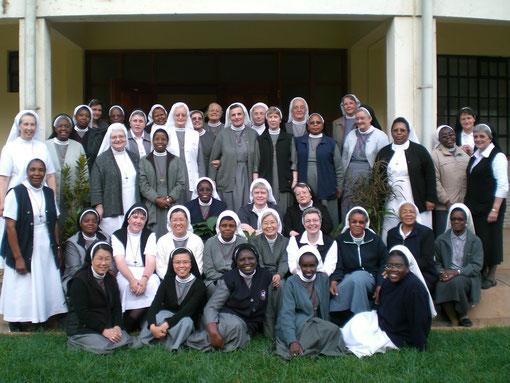 Kapitularinnen am Generalkapitel 2012