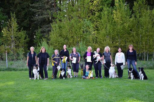 Alle teilnehmenden Raindogs....