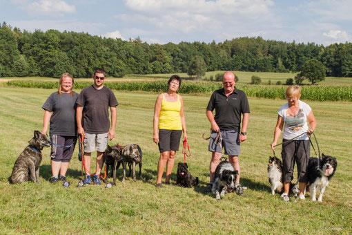 Silke, Andreas, Renate, Kurt und Claudia in Waffenbrunn - Vielen Dank an Franz Gerstner für das Foto!