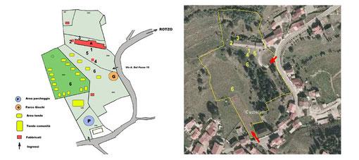 Planimetria esterni e zone