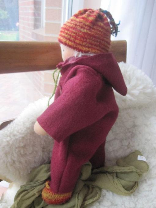 Unser Puppenjunge Emil im Walkanzug
