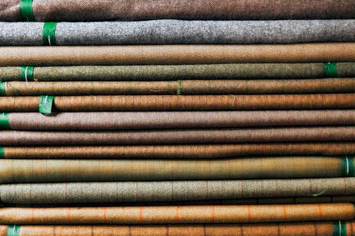 Kommen Sie nach Lübeck und erleben Sie unsere umfangreiche Auswahl an Tweed