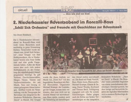 Montagszeitung 18.12.2011