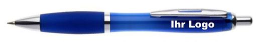 Bedruckte Kugelschreiber sind das ideale Werbemittel für Ihr Unternehmen, 1-farbig bedruckt inklusive aller Vorkosten.