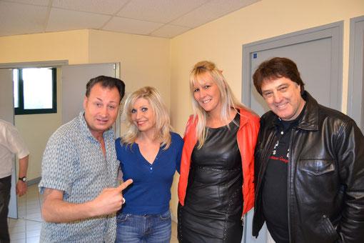 TedSanders, Marcelle Alexis et Franck Olivier (Avril 2013)