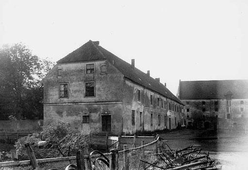 Начало 20 века Бранденбург, жилое здание в форбургездание