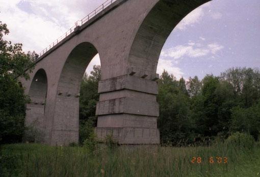 2003 г Старый железнодорожный мост.