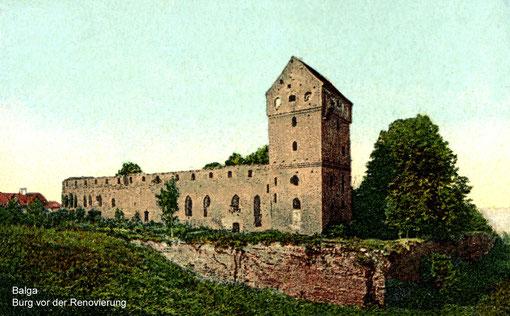Бальга 1920 г. до реставрации