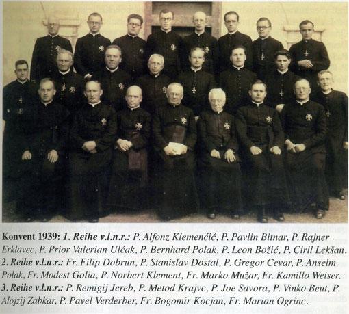 Орденский конвент 1939 г.
