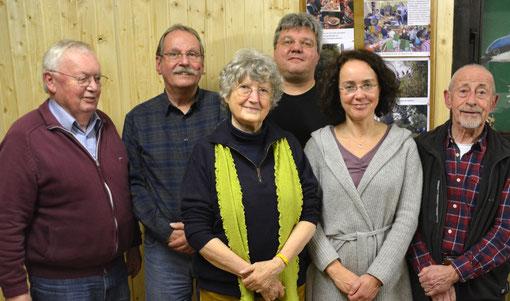 Kaj Wechterstein, Dietmar Sellner, Gesine Wechterstein, Peter Kämmerer, Barbara Fuchs, Hans-Lorenz Heck (Foto Maraike Stich)