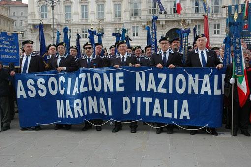 Cerimonia in Piazza Unità a Trieste