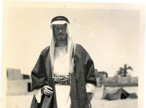 Muhammed Asad alias Leopold Weiss um 1923 im Orient. Foto: Mischief Films