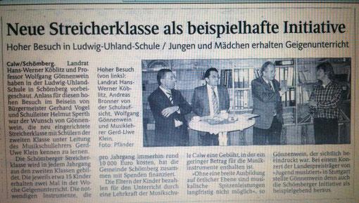 Kreisnachrichten Calw 2006