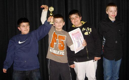 Wettkampfklasse Hauptschulen: Lerchenrainschule 3. Platz