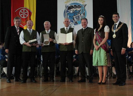 Zelter-Plakette an MGV Nordheim - 2012 - Verleihung in Alzenau/Michelbach