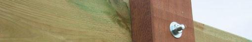Alles zur Pfostengründung bei Carports aus Holz
