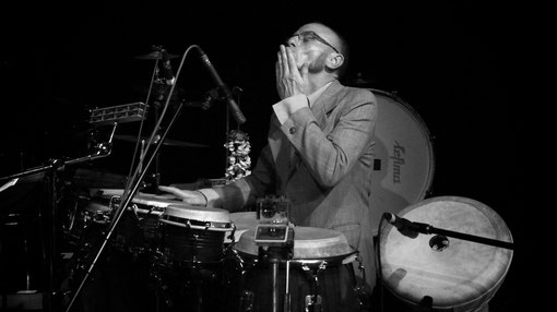 Alfred Mehnert_Percussions / Foto: Regina Teichs