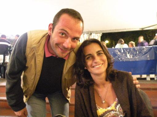 Erik Campo e Marina Leone