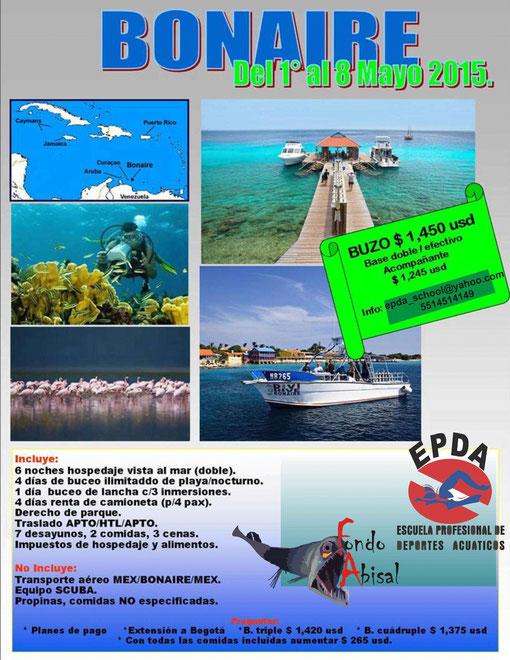 La mas Hermosa y natural de las Antillas Holandesas, su clima, su gente y sobre todo sus playas y su vida submarina te conquistaran, vive esta extraordinaria experiencia