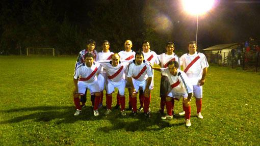 Serie  de la final La Platina F C en San Enrique  año 2014