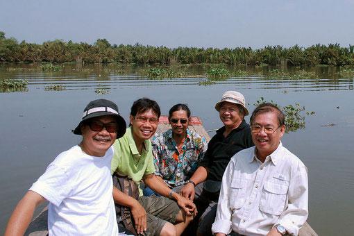 Trên sông Đồng Nai.02.2008