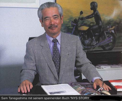 Sam TANEGASHIMA (Photo extraite du livre Micky HESSE Z1-VOL3)