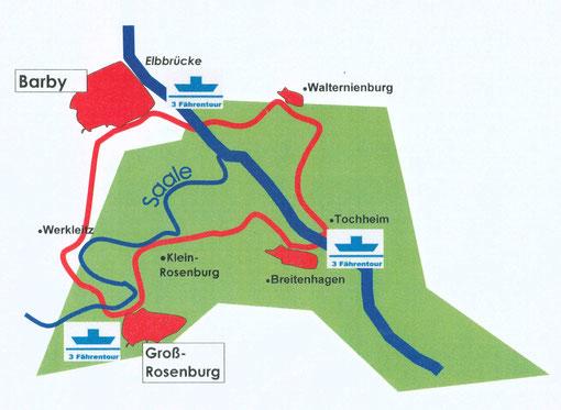 weiter Infos in regionale Radwanderkarte