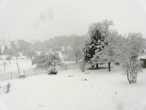 neige, hiver