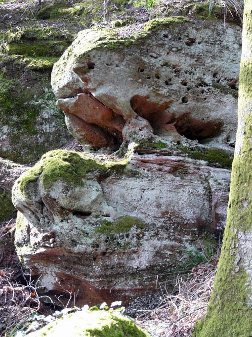 la roche du Diable, esprits de la nature, élémentaux