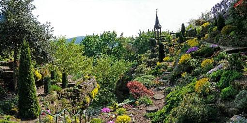 jardin de la grotte Saint-Vit