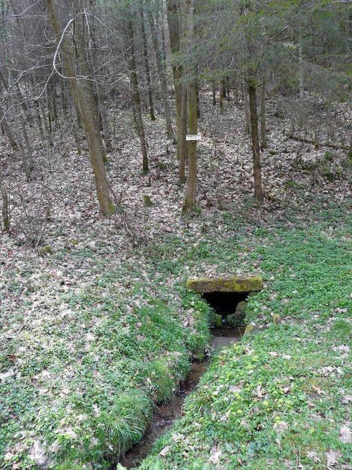 La source de la hutte de Fouquet