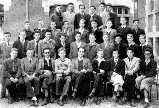 photo de classe Laon 1950 3 ABM