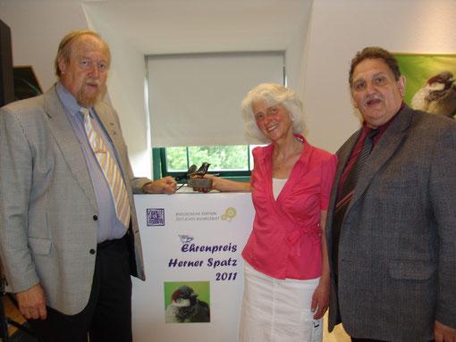 Peter Messler, Annemarie Krone und Norbert Kilimann