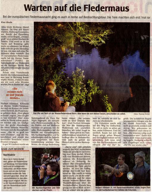Klas Libuda (Text) und Thomas Schild (Bilder) von der WAZ haben uns begleitet