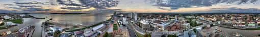 Bremerhaven, 360° vom Radarturm