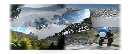 Wander-, Kletter- und Skitouren