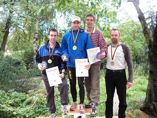 Gold mit der Mannschaft bei der Deutschen Meisterschaft 2007