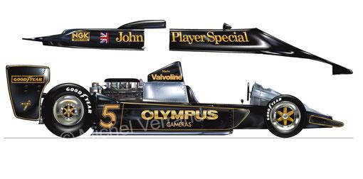Lotus 79. Mario Andretti. Paul Ricard 1978