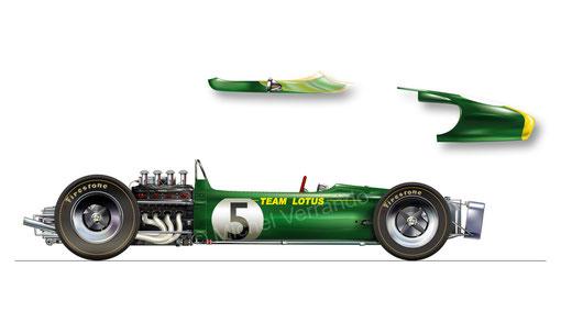 Lotus 49. Jim Clark. Zandvoort 1967
