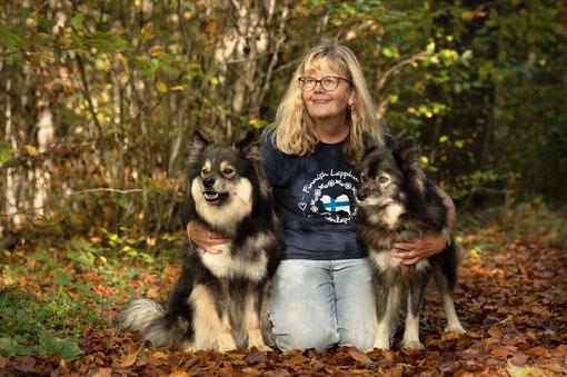 mit unseren Hunden in Korsika