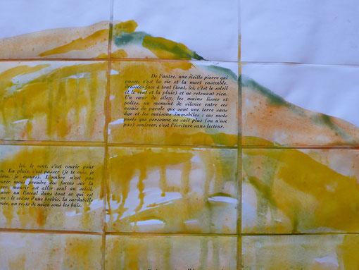 Peindre / Ecrire par Anne SLACIK et Guy BARRAL aux Editions Luis Casinada. Détail