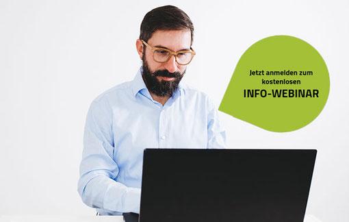 Anmeldung zum Info-Webinar